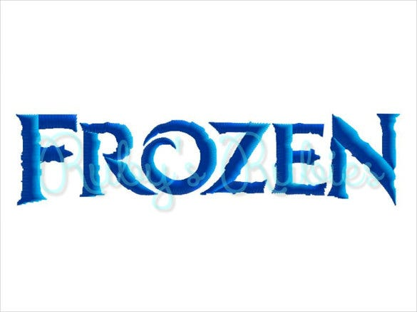 snow queen frozen font