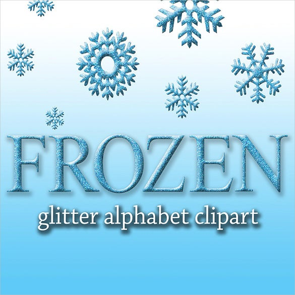 frozen digital font download
