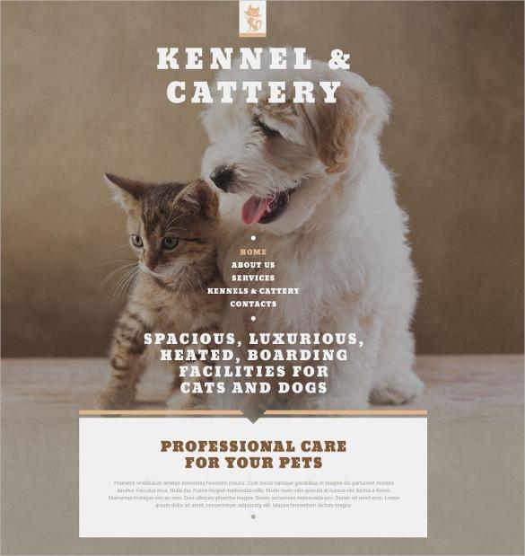 animal pet shop website template 69