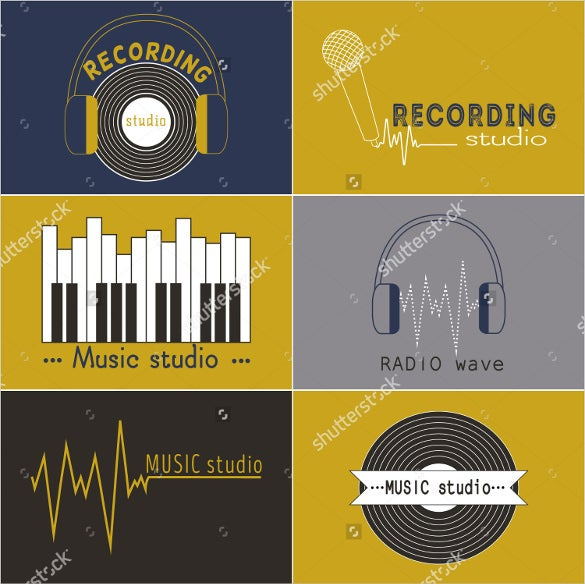 simple music logo design download