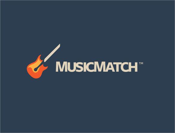 stunning music branding logo download
