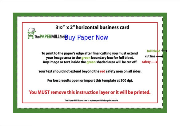 Word Business Card Templates Free Download  Free  Premium
