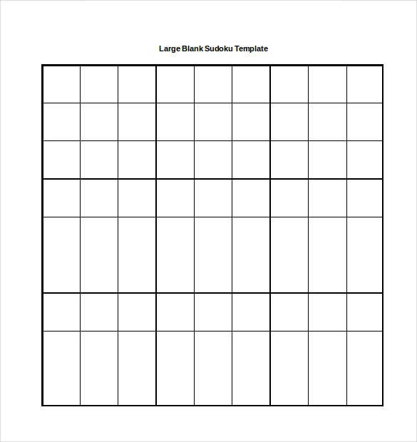 15+ Word Sudoku Templates Free Download | Free & Premium Templates