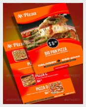 Fresh Pizza Menu Vector EPS Format Download