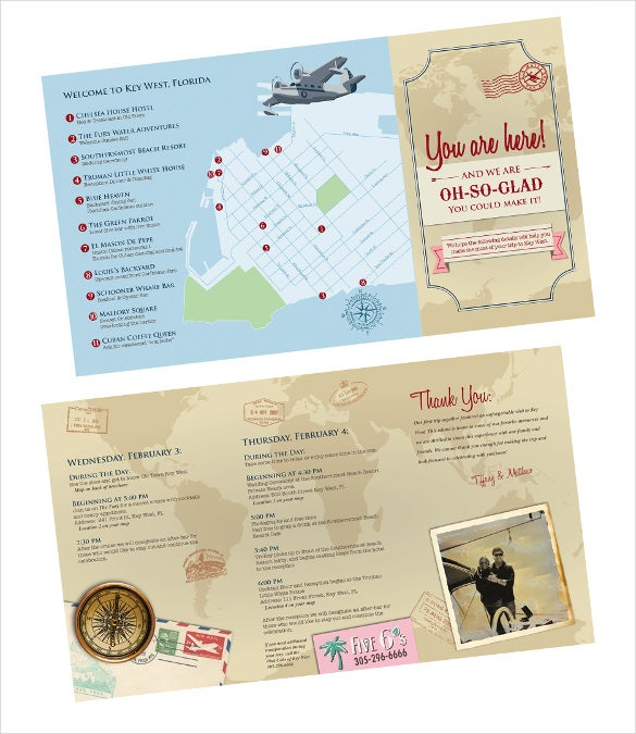 Wedding Itinerary Template For Free Download1