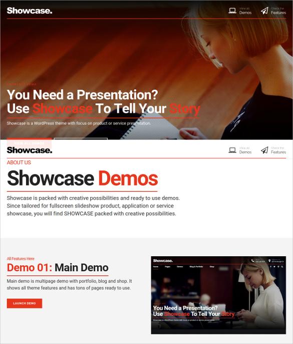 multipurpose fullscreen portfolio wordpress theme