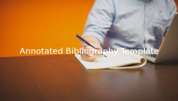 annotatedbibliographytemplate