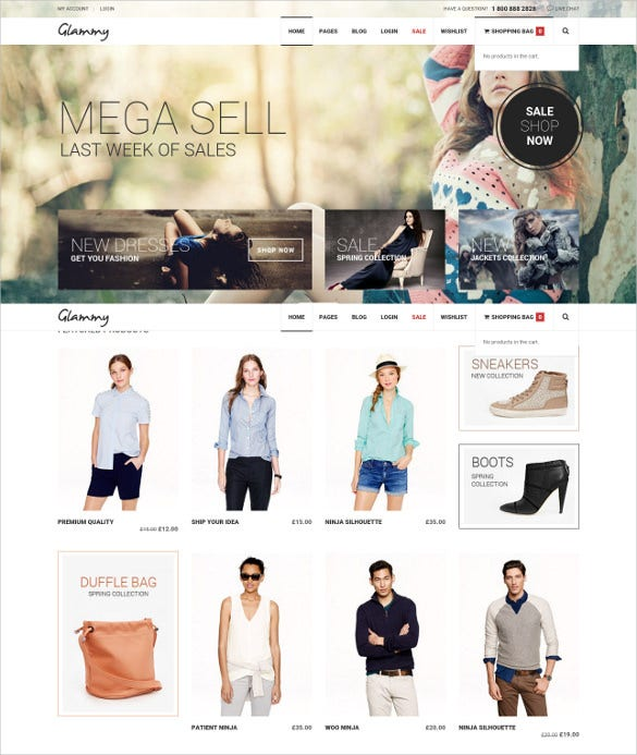 32+ eCommerce WordPress Themes & Templates | Free & Premium Templates