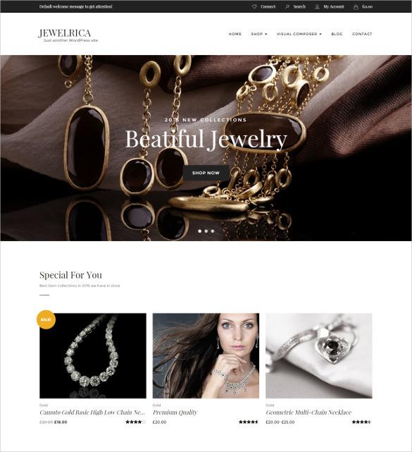 jewelrica ecommerce wordpress theme1