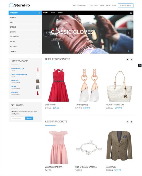 apparel wordpress ecommerce theme