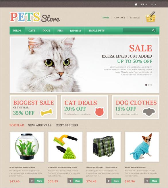 animal pets store prestashop theme 139