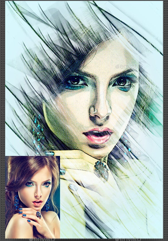 artistic photo manipulation photoshop psd format