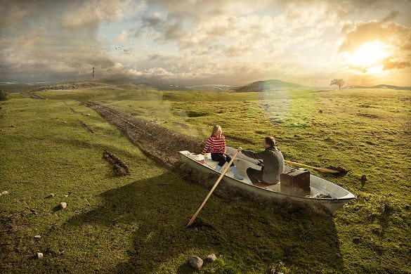 boating on earth photo manipulation download