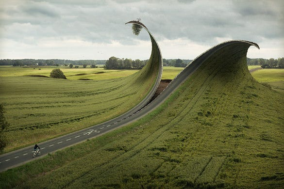 creative road photo manipulation download