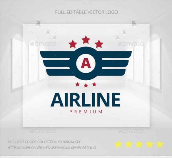 designer airline logo