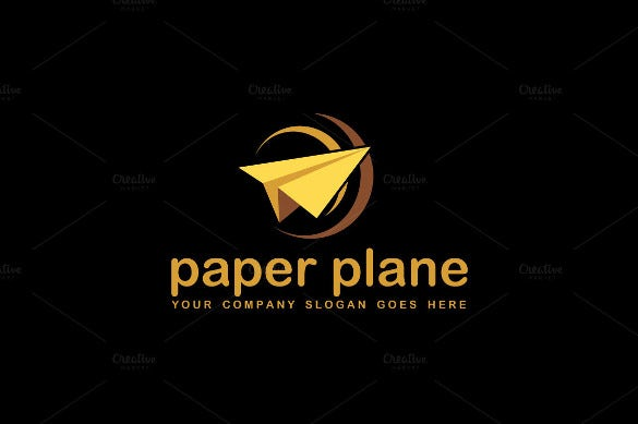 airlines agency logo psd download