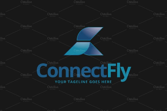 connect air fly logo