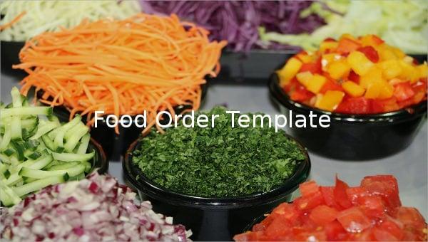 food order template1