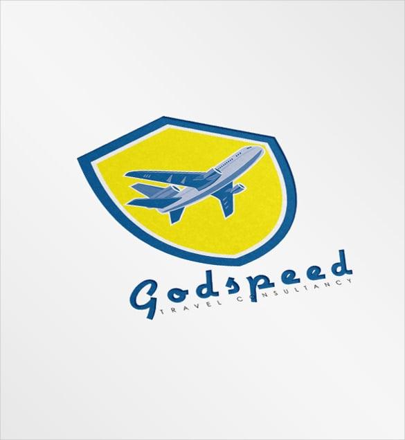 godspeed travel consultancy airline logo