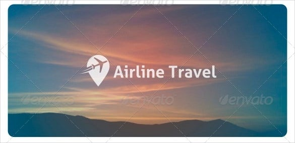 airline travel logo