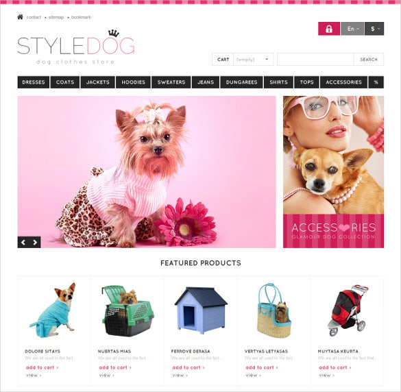 responsive dog style animal pets store prestashop theme 139