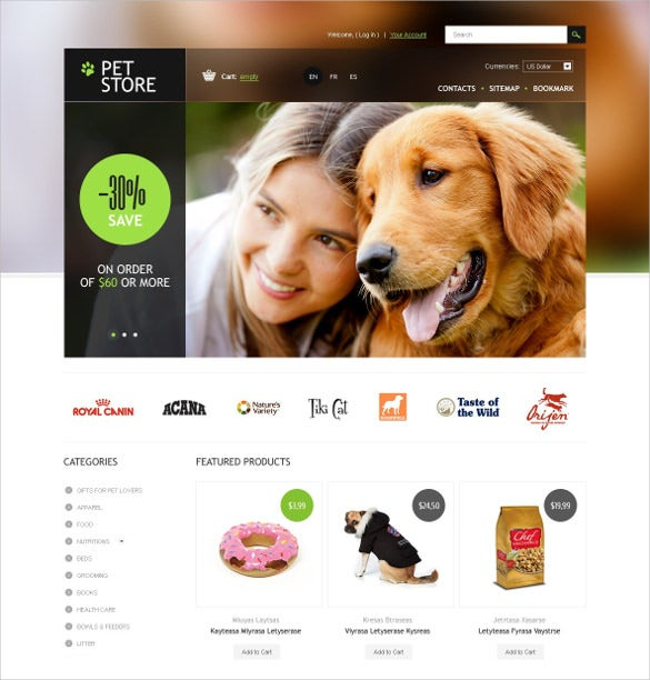 animal pet store prestashop theme 139