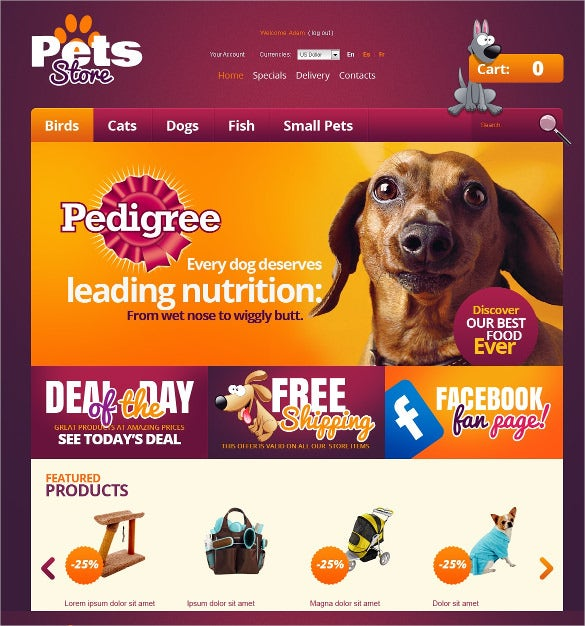 best animal pets prestashop theme 139