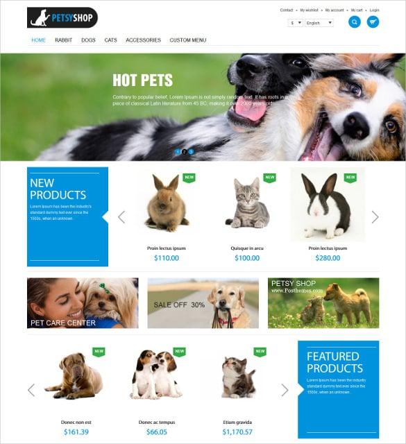 beautiful animal pets shop responsive prestashop theme 70