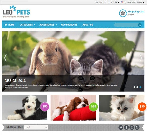 special animal pets prestashop theme