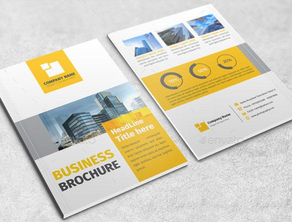 Word Bi Fold Brochure Templates Free Download Free Premium - Brochure templates download free
