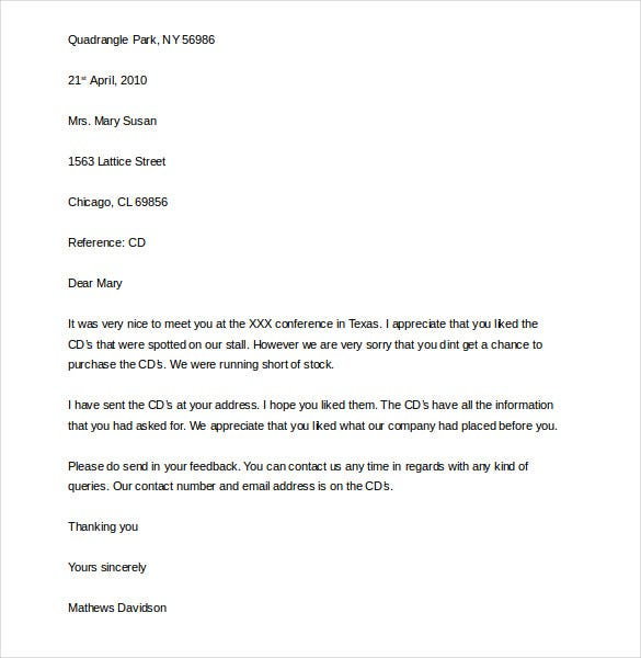 professional business complaint letter template