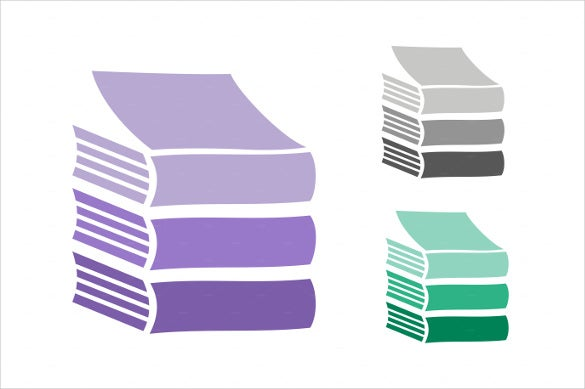 books vector logo icons set download