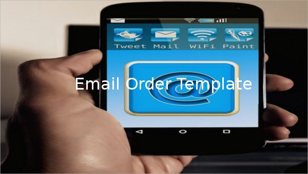 email order template1