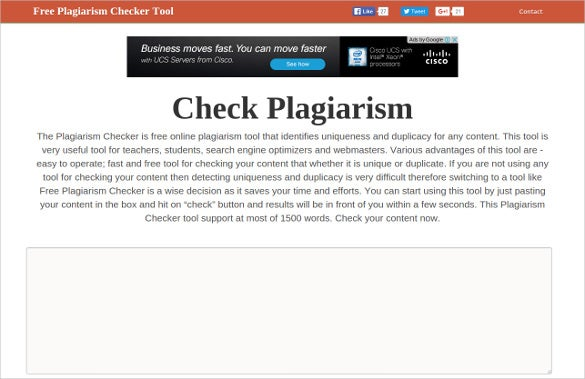 check plagiarism essay online free Plagiarism checker ninjaessays's plagiarism checker is a powerful plagiarism search engine that checks how unique your text is it's really easy to get your report.