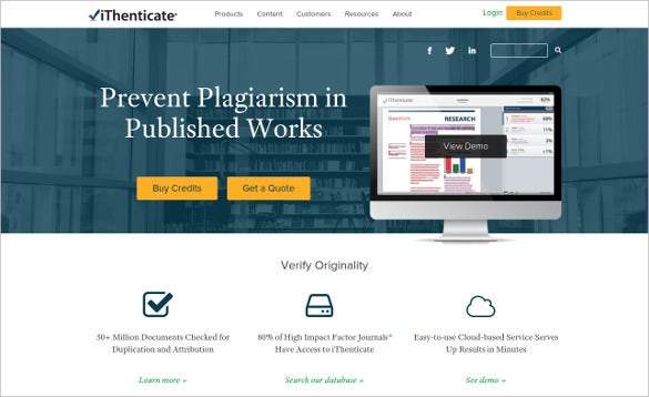 ithenticate tool to prevent plagiarism in published work