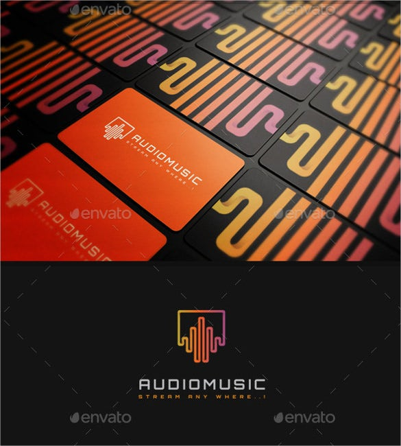 amazing audio music logo download