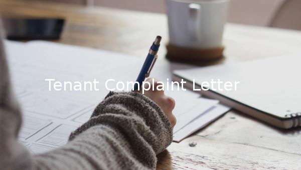 tenantcomplaintletter1