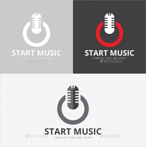 creative power music logo download