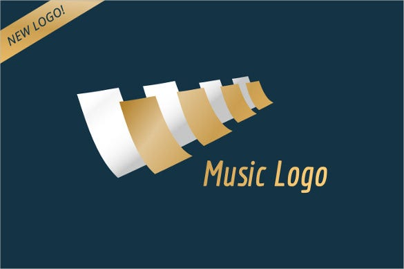 music piano keys logo template
