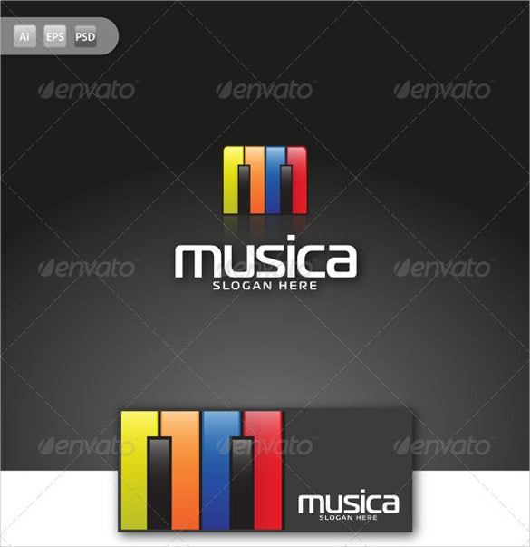 unique music logo download