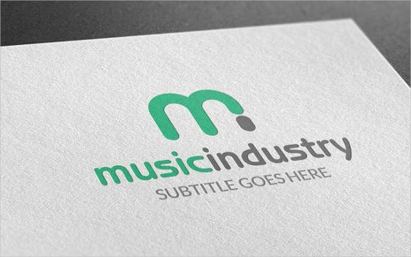 creaitve music industry logo download