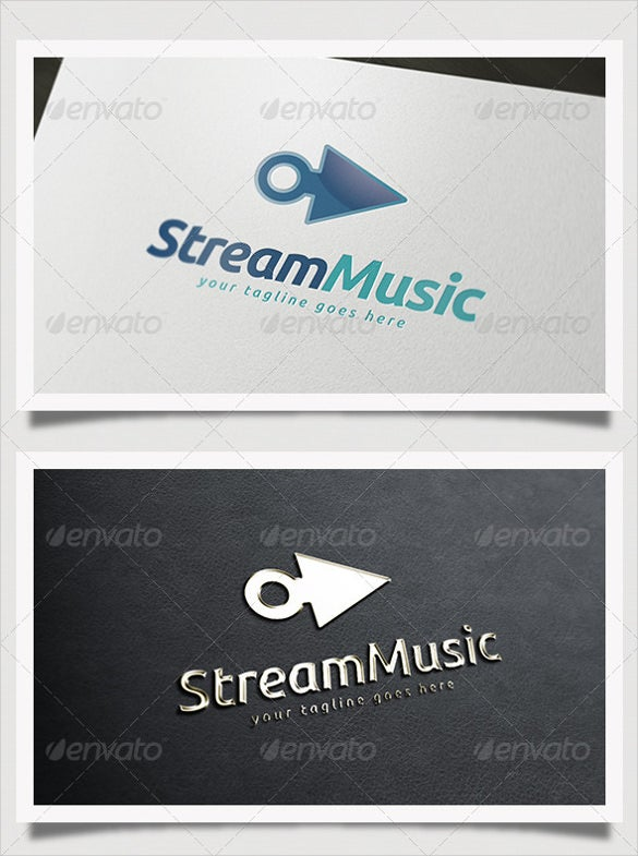 stream music logo download
