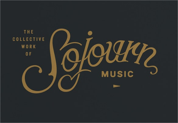cool music logo template download