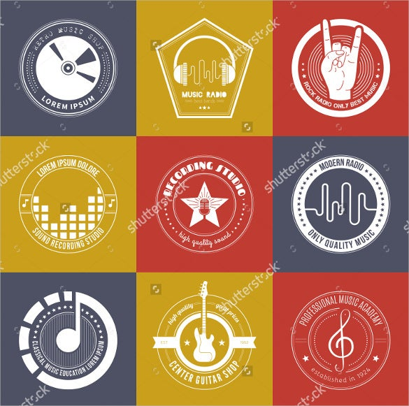 amazing music logo collection download