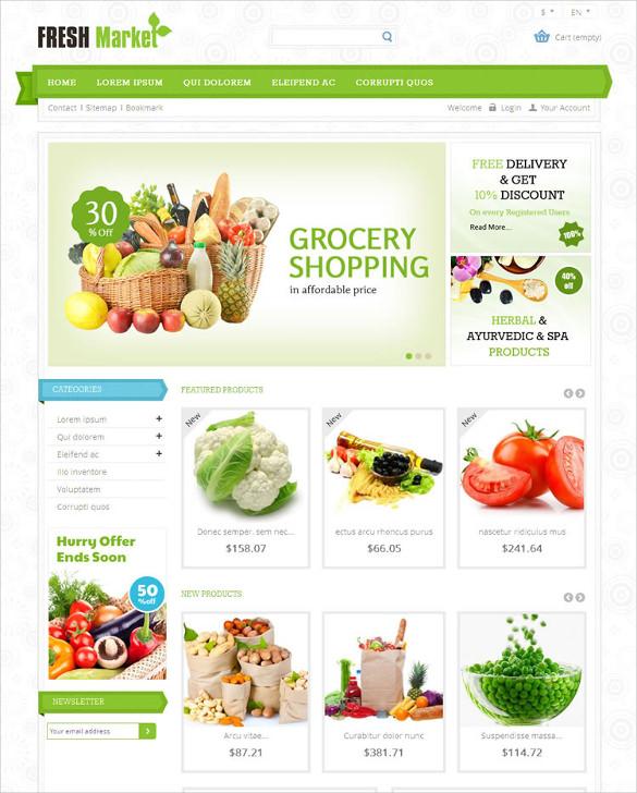 grocery store prestashop responsive theme