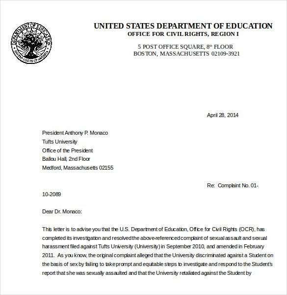 12 environment complaint letter templates free sample example ed if you are planning to make an official complaint about the environmental degradation in any way you can use this sample template spiritdancerdesigns Images