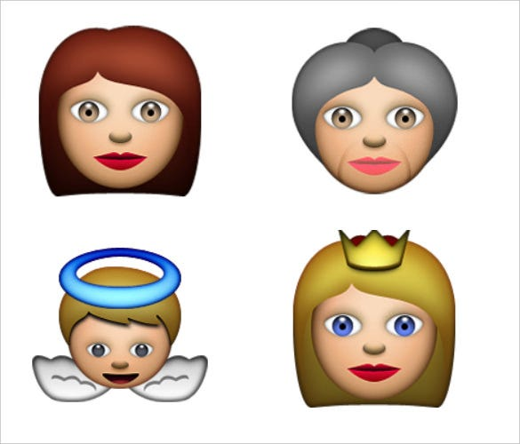 ios emoji woman free download