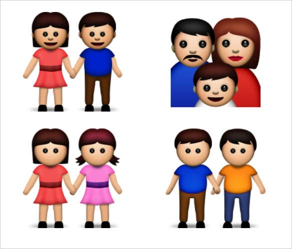 man women emoji pictures download
