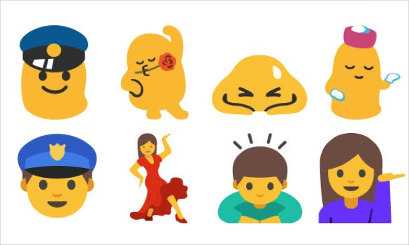 android n drops gender neutral emoji picture