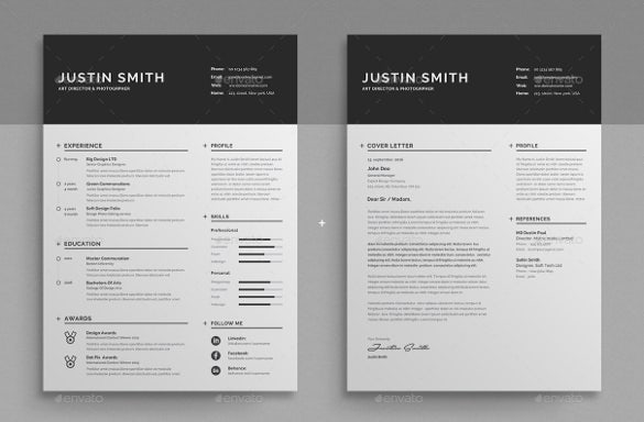 Well Organized Professional Resume Word Template